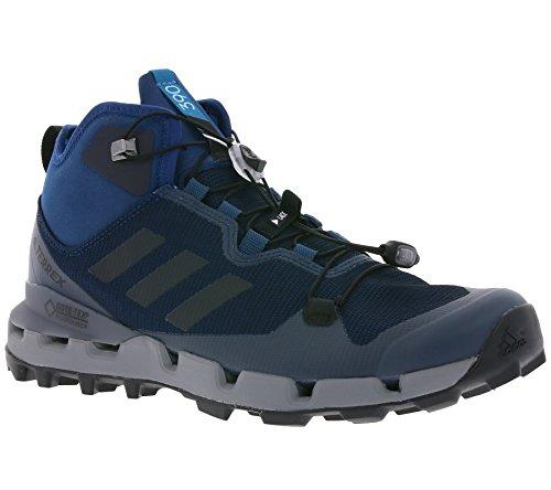 adidas adidas Herren Terrex Fast Mid GTX-Surround Trekking-& Wanderhalbschuhe, Mehrfarbig (Azul Azunoc Negbas Gritre), 42 EU