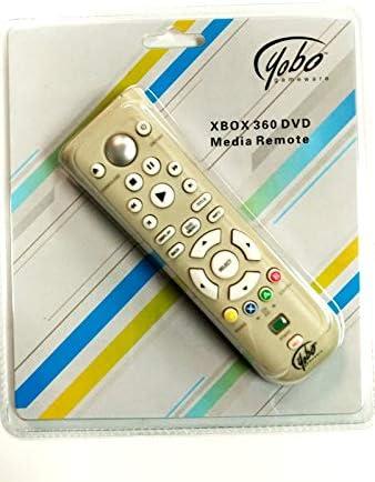 Yobo Xbox 360 DVD Media Remote Control for Microsoft Xbox 360 System