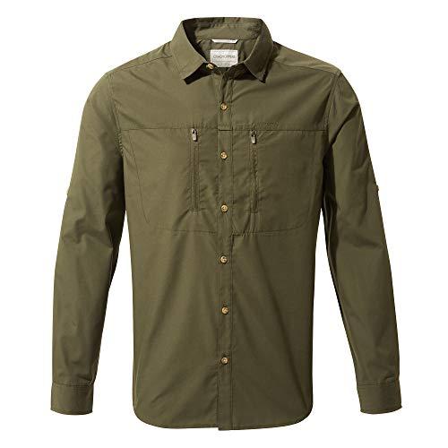 Craghoppers Herren Kiwi Boulder T-Shirt, Dark Khaki, XL