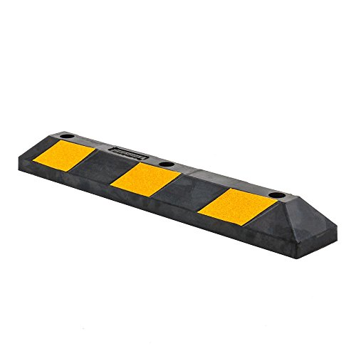 "top 10 rubber parking curbs Guardian Discount Lamp DH-PB-5 Heavy Duty Rubber Parking Edge – 36 ""x 5.9″"