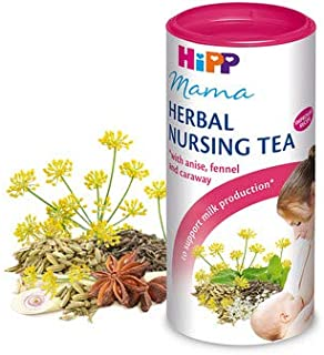 Hipp Herbal Nursing Tea for Breastfeading Women with Anise,Fennel and Caraway 200 g / 7.01 o.z