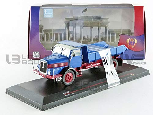 Ist models- Miniature Voiture de Collection, IST302T, Bleu/Rouge