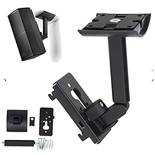 CVERY - Soporte de pared para soporte de techo Bose UB-20II, soporte de altavoz de acero para ahorrar espacio con fijaciones para sistemas de audio de cine casa