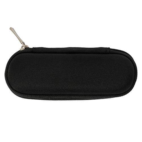 CASCHA Mundharmonika-Tasche schwarz I Soft-Case für 1 Stück diatonische Mundharmonika I Blues Harp Tasche mit praktischer Gürtelschlaufe I robuste Gürtel-Tasche I Harmonica Case black HH 2226