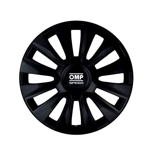 "OMP Magnum Speed - Tapacubos 14"", negro"