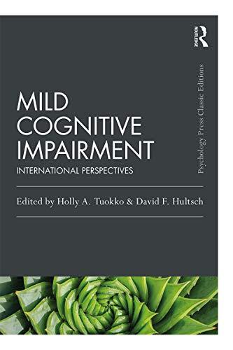 Mild Cognitive Impairment: International Perspectives (Psych