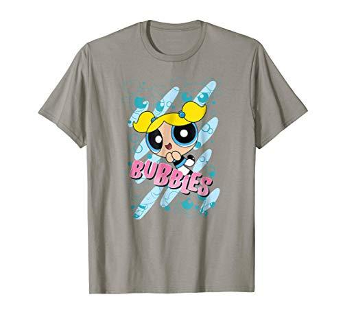 CN Powerpuff Girls Bubbles Character Poses T-Shirt
