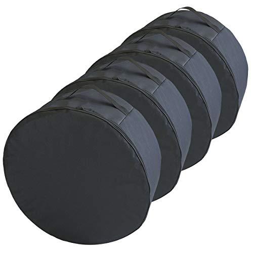 Ferocity Premium Set Borse per Pneumatici Borsa COPRIRUOTA 15-18  XXLPollici ACCA Ruota Wheel Bag [Set di 4] Borsa Porta-Ruota [097]
