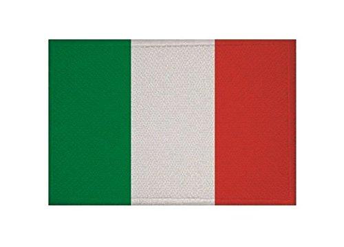 U24 Aufnäher Italien Fahne Flagge Aufbügler Patch 9 x 6 cm