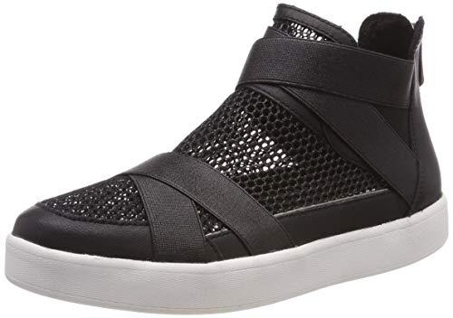 MARCO TOZZI Damen 2-2-25408-22 Hohe Sneaker, Schwarz (Black Comb 098), 39 EU