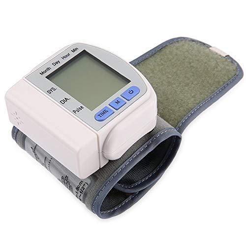 Ecloud Shop® Digitale automatische Handgelenk Blutdruck Herzschlag Puls Monitor Herzschlag