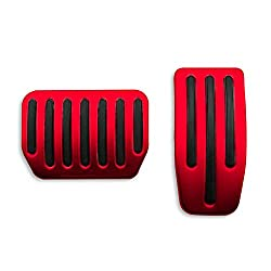 Red Pedal Covers for Tesla Model 3 Y