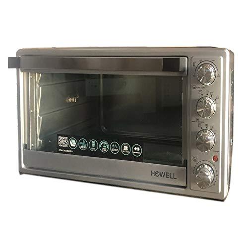 HOWELL HO. FE4502R Forno Elettrico ventilato con girrarosto 45 Litri, 1600 W, 30 Decibel