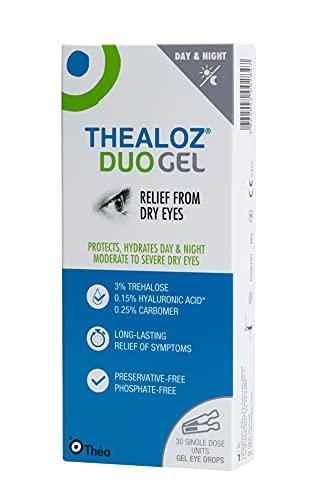 Thealoz Duo Gel - Trehalosa 3% & Hialuronato De Sodio 0.15% (0,4 g x 30 viales)