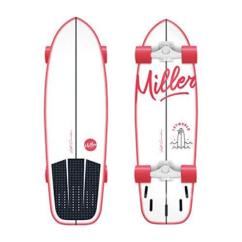 Miller Skateboards LETWORLD PRO, Mehrfarbig