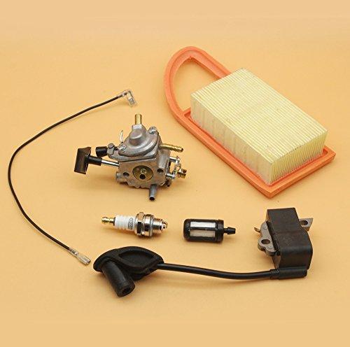 Vergaser Zündspule Magneto Modul Luftfilter für Stihl BR500 BR550 BR600 BR 500 550 600 Rucksackgebläse Zama C1Q-S183