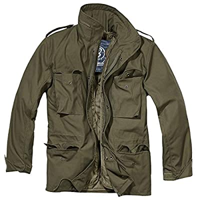 Brandit Men's M-65 Classic Jacket Olive Size M