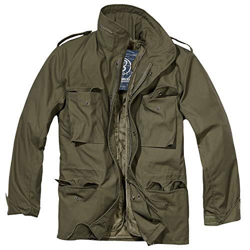 Mens M-65 Classic Olive Green Military Jacket