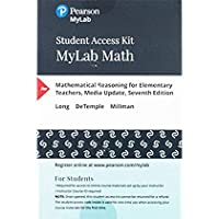 MyLab Math with Pearson eText - Access Card - for Mathematical Reasoning for Elementary Teachers - Media Update【洋書】 [並行輸入品]