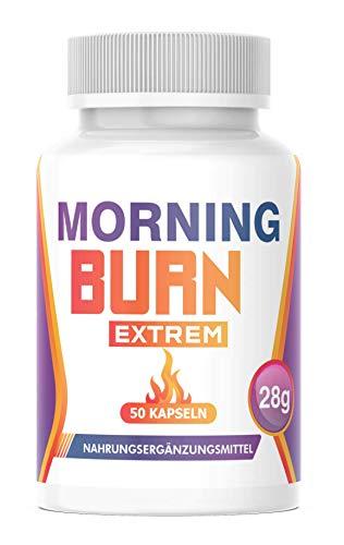 NEU: Saint Nutrition® MORNING BURN + Garcinia Cambogia - EXTREM Kapsel Ergänzung für Frauen & Männer, hochdosiert + vegan, die Kapsel für den Tag – STOFFWECHSEL – POWER – ENERGIE – STARK - Deutschland
