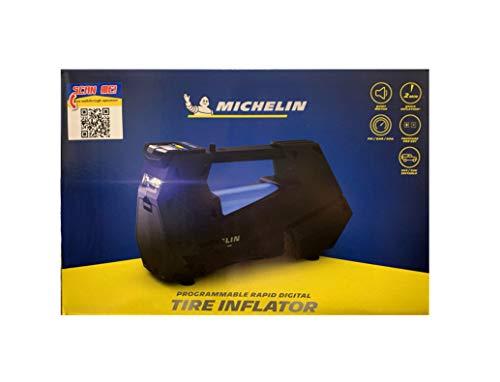 MICHELIN Tire Inflator ML-12312 Rapid Programmable Digital