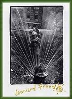 ポスター レナード フリード Harlem New York/Freed 額装品 ウッドベーシックフレーム(グリーン)