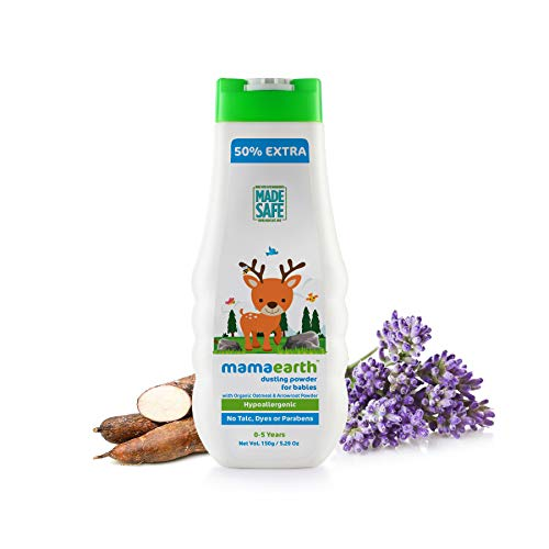Mamaearth Baby Powder Made in the Himalayas with All Natural Ingredients