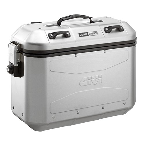 Par de maletas laterales de aluminio de 36l Trekker Dolomiti DLM36APACK