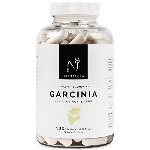 Garcinia Cambogia+L-Carnitina+Té verde, quemagrasas natural efectivo. La mejor...