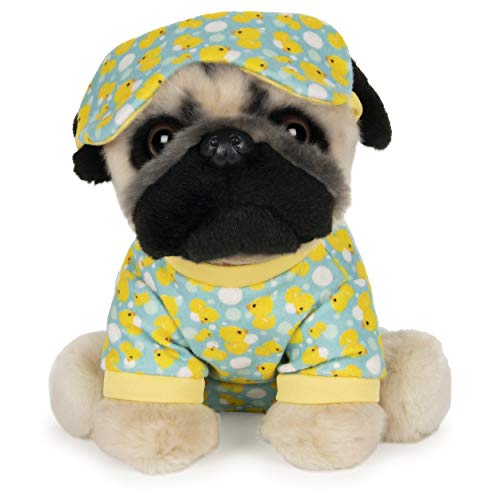 GUND Doug The Pug Sleepytime Dog Stuffed Animal Plush, 9""