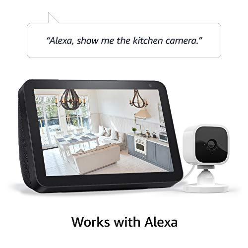 Introducing Blink Mini – Compact indoor plug-in smart security camera, 1080 HD video, motion detection, Works with Alexa – 2 cameras