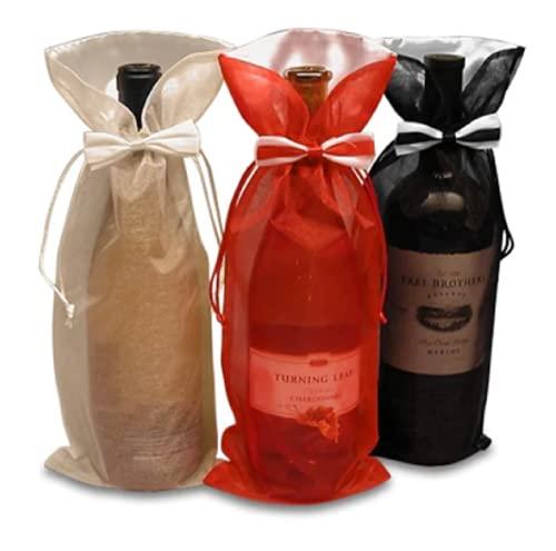 Generic Weinflaschen-Geschenkhüllen für Zuhause, Party-Dekoration, Abendessen Bild