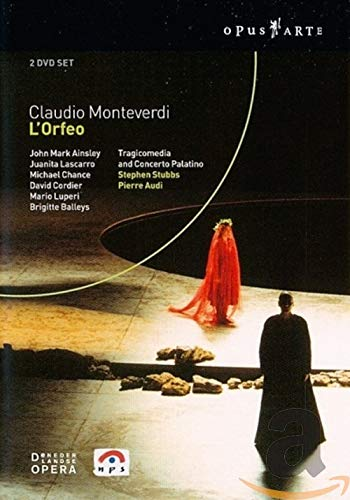 Monteverdi, Claudio - L'Orfeo (NTSC, 2 DVDs)