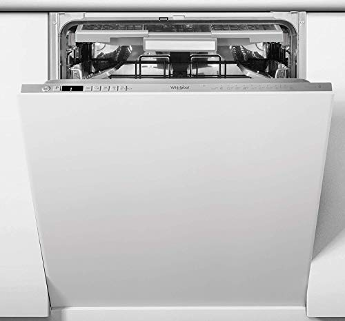 Whirlpool WIO3O33PLESUK Integrated Full Size Dishwasher, Quick Wash, 14 place settings, Inox