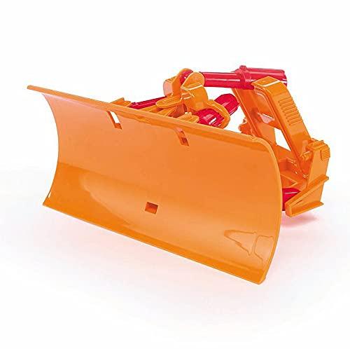 Bruder 02581 - Räumschild, verstell- und arretierbar in der Höhe, voll funktionsfähig und beweglich