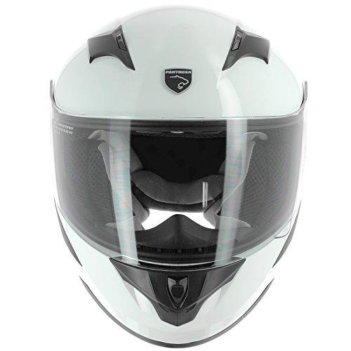 PANTHERA - casco de Moto Integral para niño Rooky SA36K-WHL