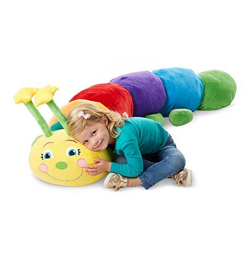 Melissa & Doug Plush Jumbo Caterpillar Stuffed Animal (63W x 18H x 17D in)