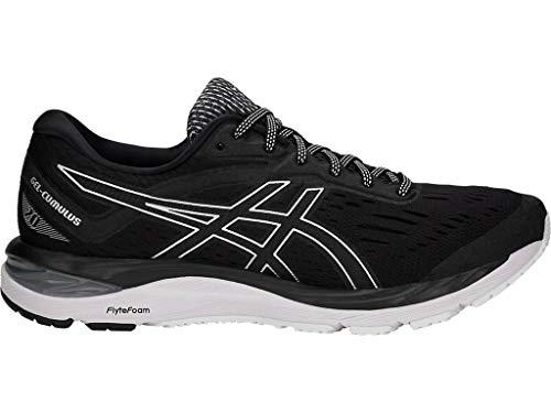 ASICS Men's Gel-Cumulus 20 Running Shoes, 7M, Black/White