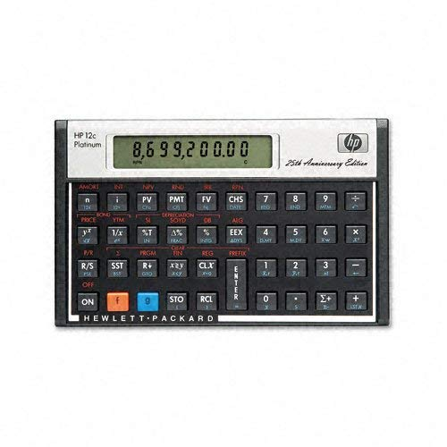12C Financial Calculator (platinium version)