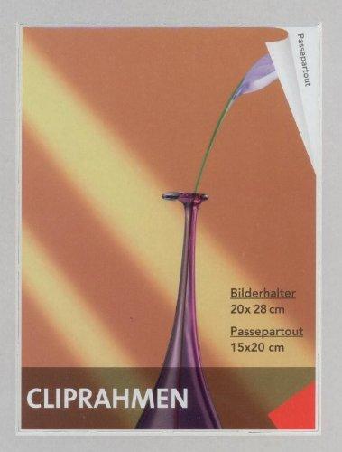 BURI Frameloze fotolijst 20 x 28 cm fotolijst fotohouder wanddecoratie