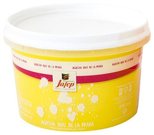 JAFEP 24767028 Esmalte acrílico, Amarillo (Sol), 250 ml