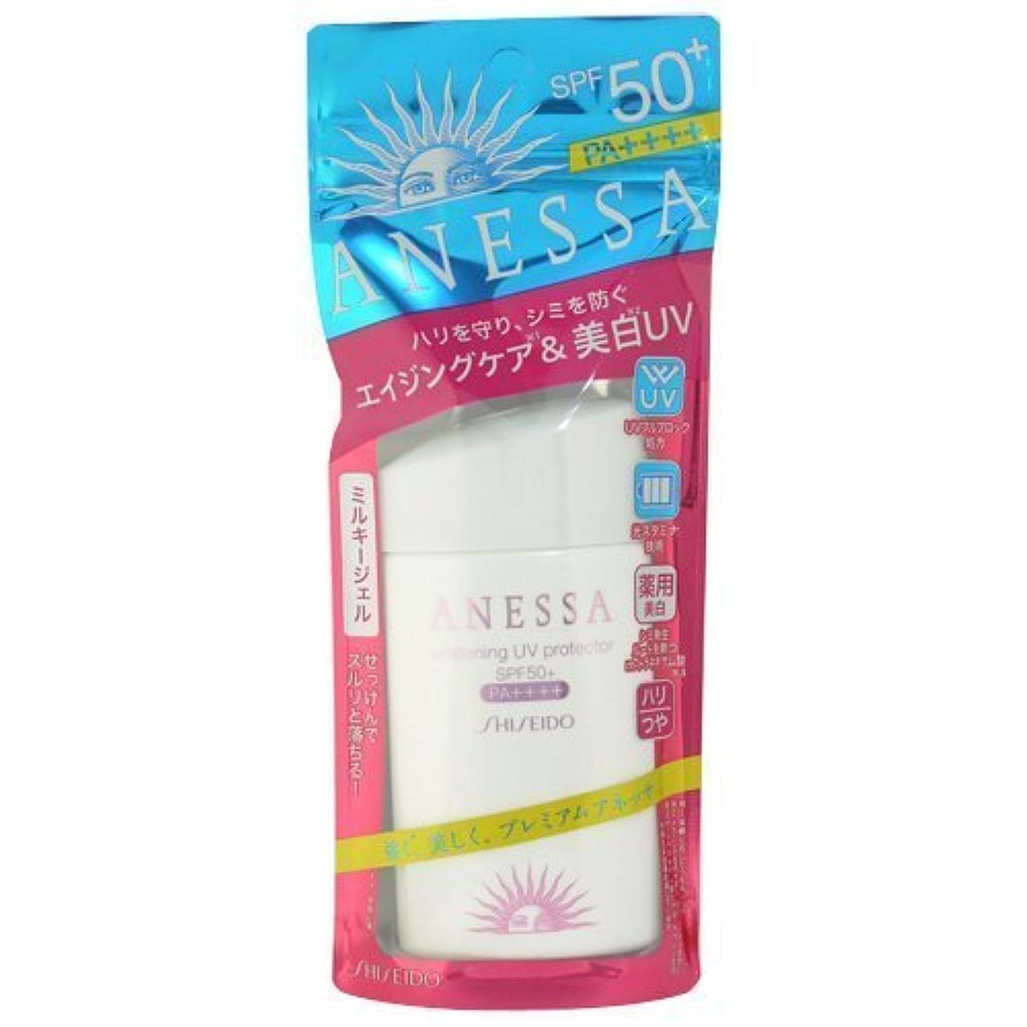 目立つペルセウスペレットアネッサ 美白UVプロテクターA+ 60ml