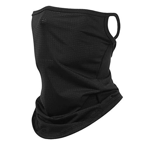 Syfinee Face Gaiter Bandana Neck Gaiter, UV Protection Neck Gaiter Scarf Headwear Anti Dust for Outdoors Sports Men Bandana