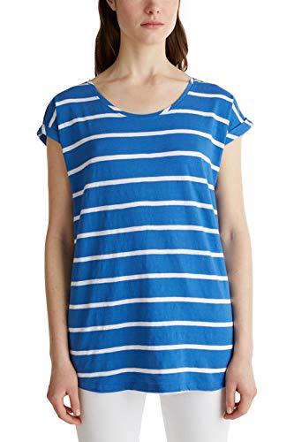 Esprit Maternity SS AOP T-Shirt Premaman, Multicolore (Grey Blue 423), M Donna