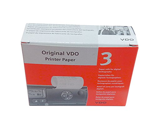 Original Kienzle VDO Printer Paper