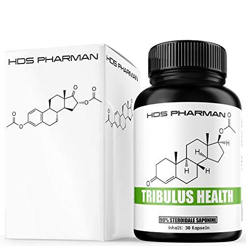 Tribulus Health 90{36727546abc6648a33c73b0a9e7d54ad8eaecaf2de96c56f4f7c5a0ca98e1db4} steroidale Saponine | Burzeldorn | ohne Maca und Vitamine, Mineralien wie Zink