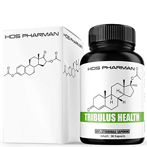 Tribulus Health 90{a768321ac1050aaab0fbe227518887136cae8dc7b433313ae5070e542dd62402} steroidale Saponine | Burzeldorn | ohne Maca und Vitamine, Mineralien wie Zink