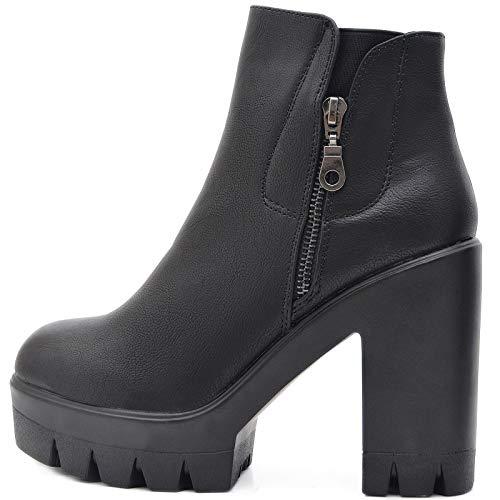 Vain Secrets Chelsea Trend Boots Plateau Stiefelette (37)