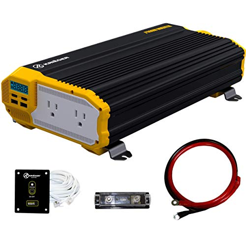 Krieger 2000 Watts Power Inverter 12V to...