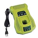P117 - Cargador para herramientas eléctricas Ryobi (12 V - 18 V, para RC18118C 5133002893 RC18-118C 18 V, ion de litio y Ni-Cad Ni-MH)